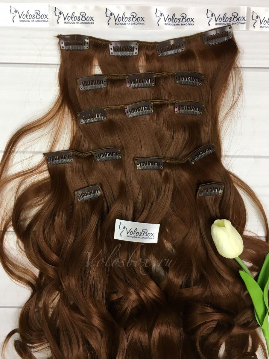 Волосы на заколках искусственные термостойкие